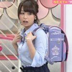 TBS宇垣美里アナ、ディズニー取材のピチピチ巨乳シャツで男性ファン悩殺