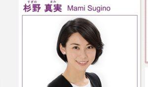 日本テレビアナウンサー・杉野真実