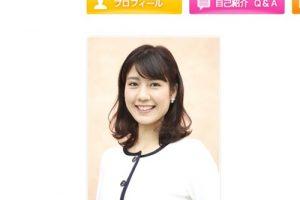 テレビ朝日アナウンサー・ 桝田沙也香