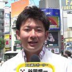 フジテレビアナウンサー・谷岡慎一
