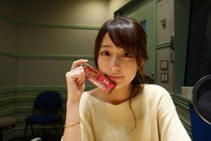 宇垣美里「今日はいちごのチョコレートで糖分補給」