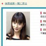 NHKアナウンサー・森花子
