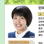 北海道テレビアナウンサー・室岡里美