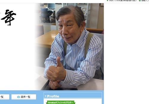 芸能リポーター・前田忠明