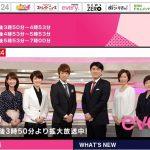 日本テレビ系「news every.」