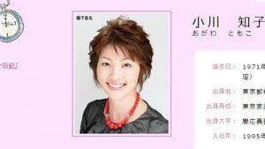 TBSアナウンサー・小川知子