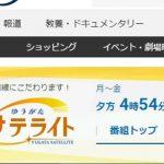 テレビ東京系「ゆうがたサテライト」