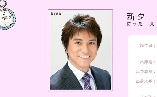 TBSアナウンサー・新タ悦男
