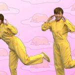 ぐでたまダンスを踊るTBS宇垣美里アナ&伊東楓アナ