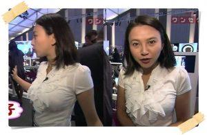 胸のスタイルが抜群!NHK・島津有理子アナの画像、その1