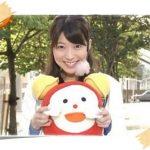 笑顔が可愛いすぎ!「めざまし天気」阿部華也子が意外に巨乳