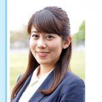 NHKアナウンサー・中川安奈