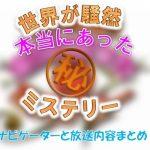 テレビ東京「本当にあった(秘)ミステリー」放送内容&ナビゲーター情報