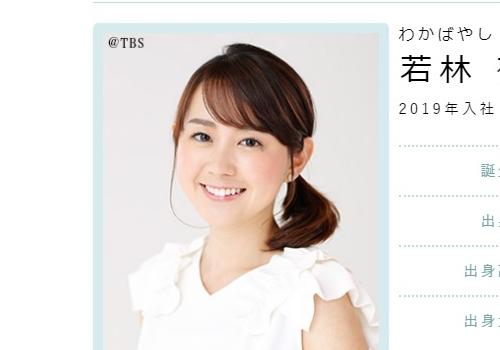 TBSアナウンサー・若林有子若林有子