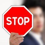 止まれ・STOPのイメージ画像