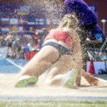 陸上競技、走り幅跳びのイメージ画像