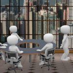 会議や討論のイメージ画像