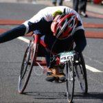 パラスポーツ、パラリンピック、車いすレースのイメージ画像