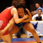 女子レスリングのイメージ画像