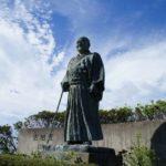 元内閣総理大臣・吉田茂の像