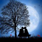 夜と恋愛のイメージ