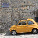 クラシックカー、古いフィアット500のイメージ