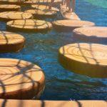 水上アスレチック、ウォータースポーツのイメージ